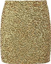Best gold sequin skirt Reviews