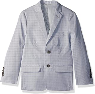 Calvin Klein Boys' Patterned Blazer Jacket