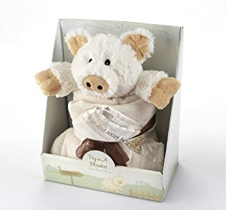 Baby Aspen Pig-n-A Blanket 2-Piece Gift Set