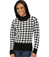 Pendleton - Petite Houndstooth Pullover