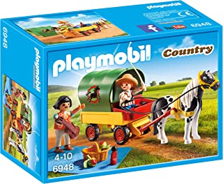 Playmobil Picnic with Pony Wagon Playset Toy