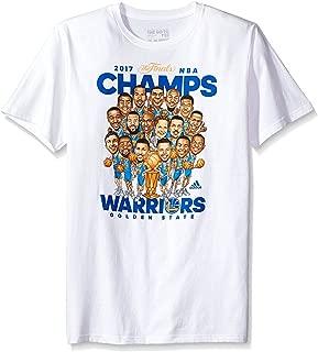 adidas NBA Champs Caricature 2017 S/Tee