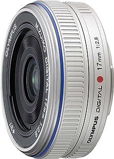 OLYMPUS パンケーキレンズ M.ZUIKO DIGITAL 17mm F2.8 シルバー
