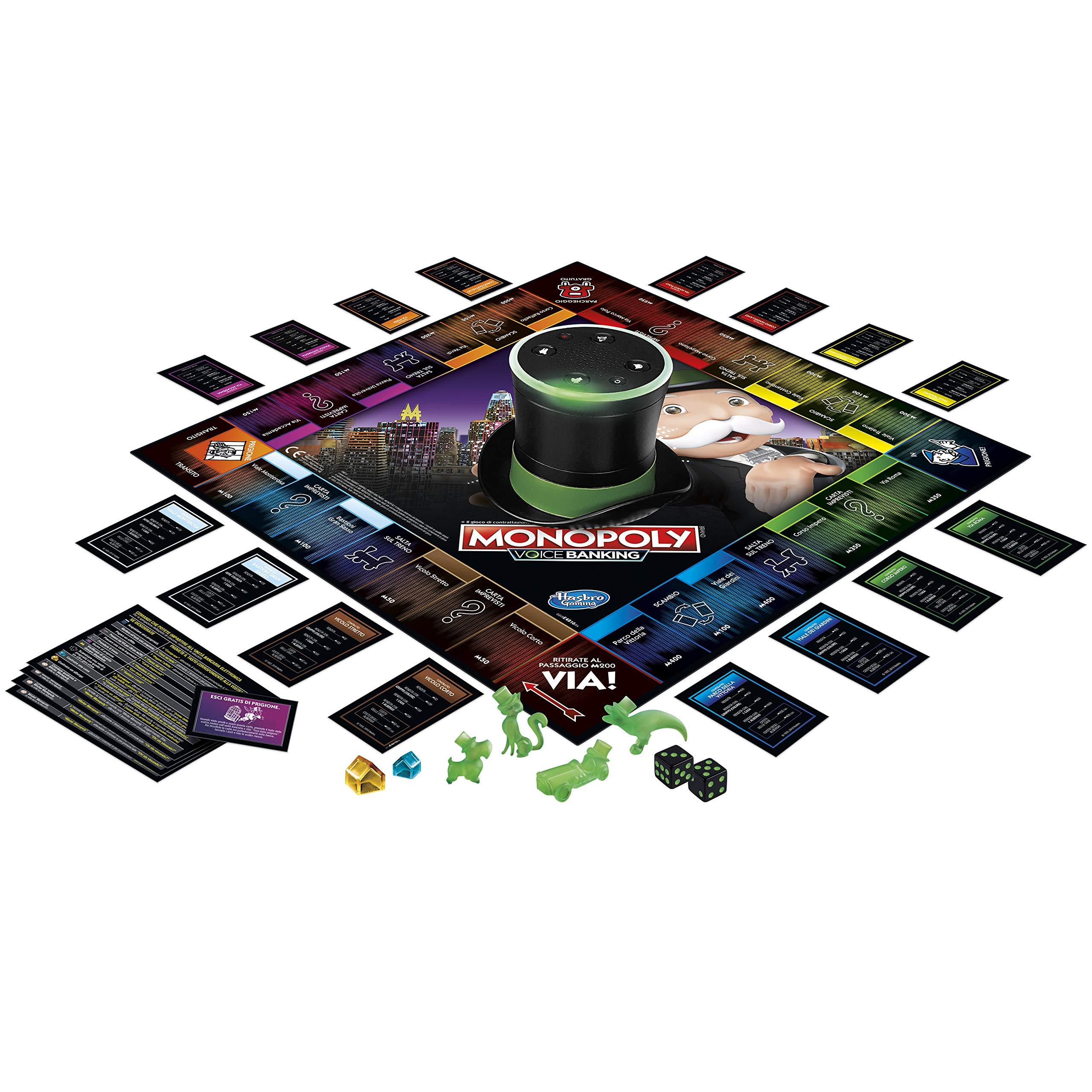 Hasbro Monopoly - Voice Banking (Juego en Caja electrónica): Amazon.es: Juguetes y juegos