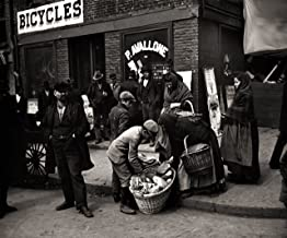 Italian Bread Peddlers Mulberry Street New York City Early Rare Reproduction Vintage and Antique Art or Artwork Collection of Old Photos of Cities Like New York or New York City, Boston, Atlantic City, Chicago, Los Angeles, and Other Us Cities.some Colorized, Black and White, Photochromes Rare Pictures of Cities and Towns Across the Us a Old Time Photos to Digital Close to Original Size 8.5 Inches By 11 Inches for Scrap Booking Home Decor or Kitchen Decor. Or Gift Giving and History Research