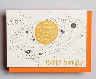 So Smart Birthday - Letterpress Birthday Card