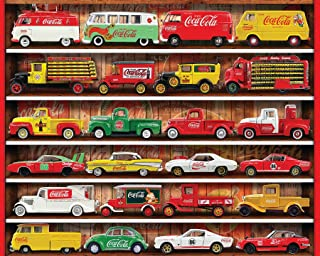 Springbok 1000 Piece Jigsaw Puzzle Coca Cola Cars - Made in USA