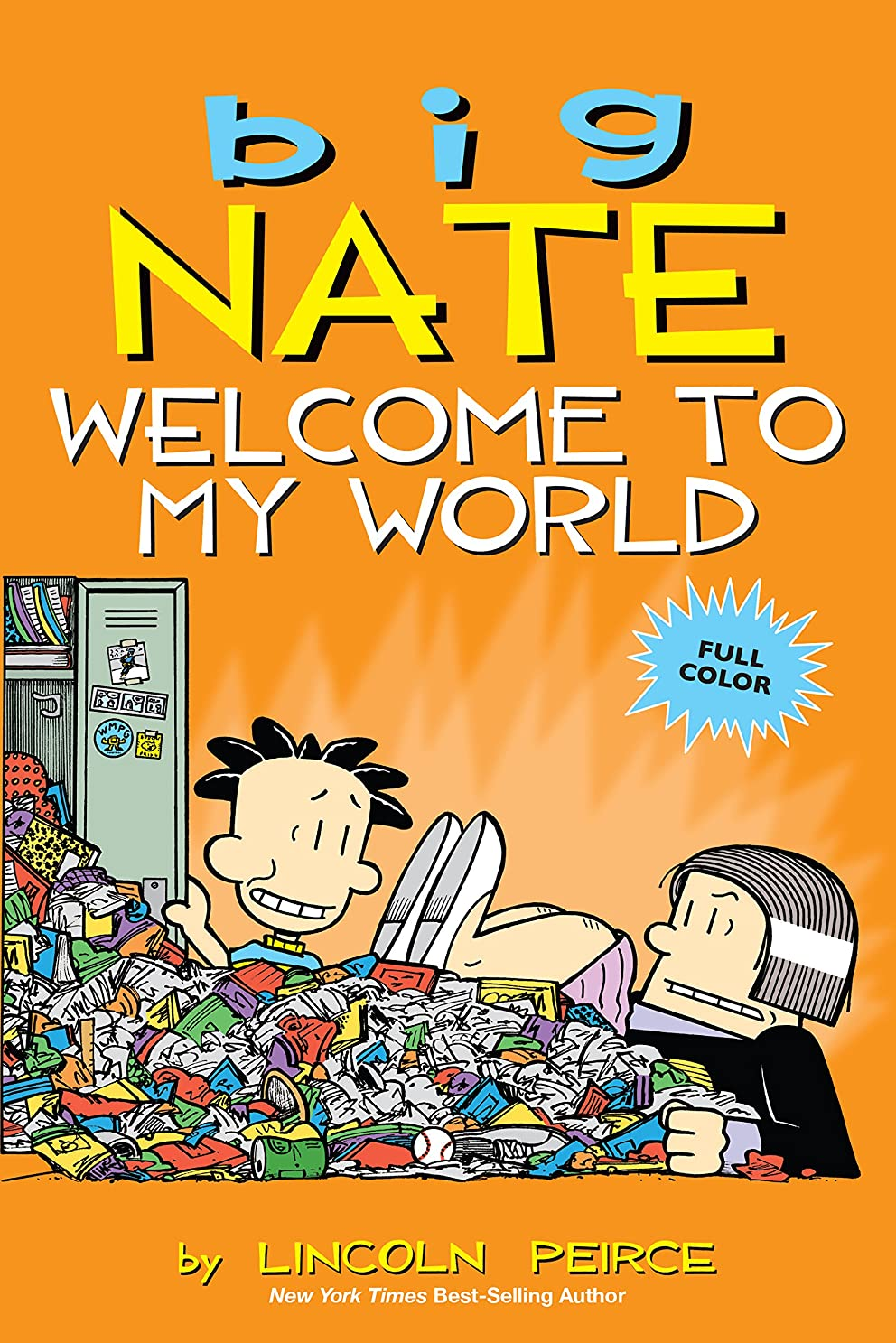 遮るミュート経歴Big Nate: Welcome to My World (English Edition)