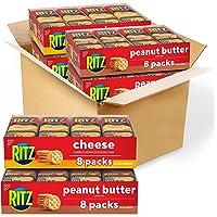 32-Pack Nabisco RITZ Peanut Butter & Cheese Sandwich Crackers