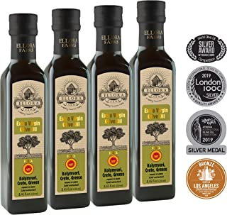 Certified PDO Single Estate | Traceable Extra Virgin Olive Oil | First Cold Extraction | Non GMO | Protected Designation of Origin