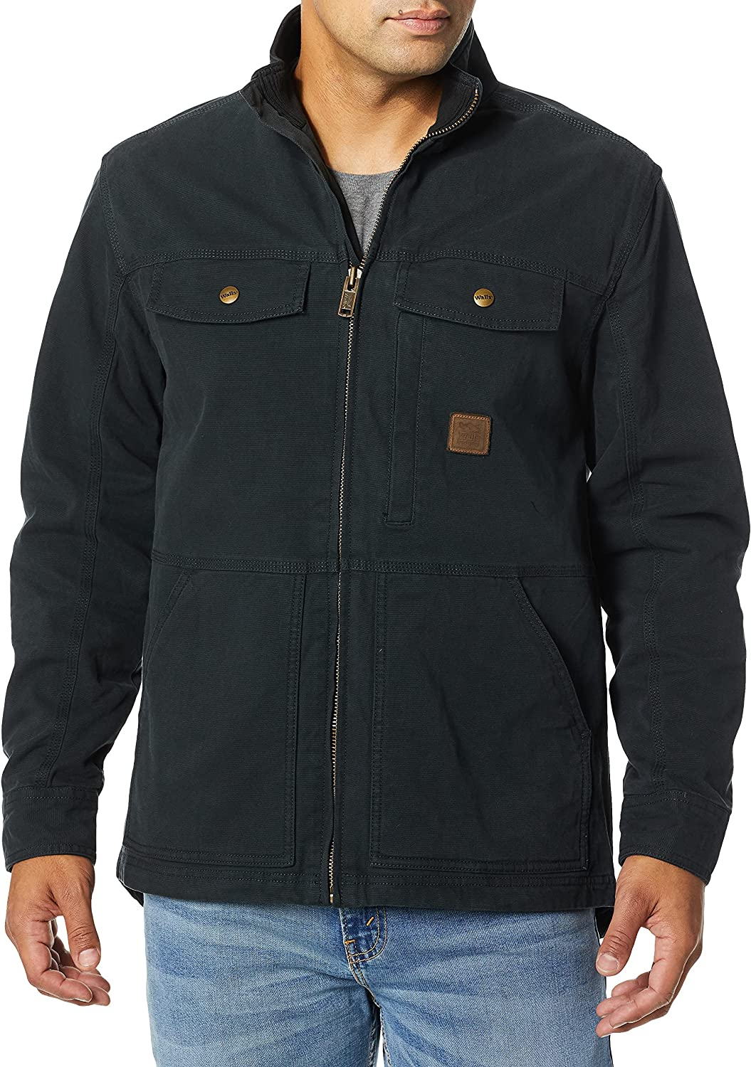 Walls Men's Vintage Lined Cotton Duck Jacket with Stretch