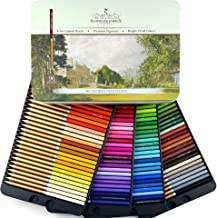 SCHPIRERR FARBEN 96 Color Pencil Set Professional Named & Numbered, Oil Based Soft Core, Ideal For Adult Crafts, Artists, ...