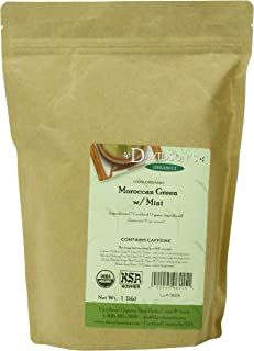 Davidson's Tea Bulk, Moroccan Green with Mint, 16-Ounce Bag