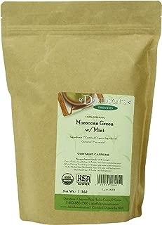 Davidson's Tea Bulk, Moroccan Green with Mint, 16 Ounce