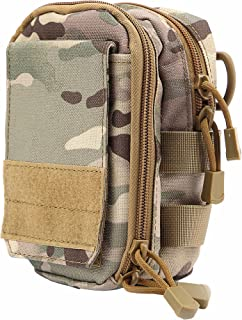 LefRight Multipurpose Tactical Nylon Molle Utility Waist Belt Pouch Bag Holster Combo Replacement Adjustable Strap