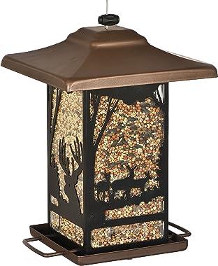 Perky-Pet 8504-2 Wilderness Lantern Wild Bird Feeder, Brown