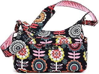 Ju-Ju-Be Classic Collection HoboBe Purse Diaper Bag, Dancing Dahlias