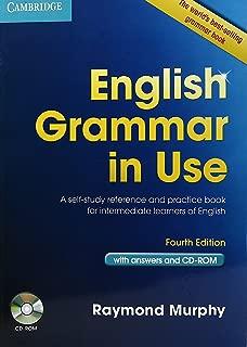English Grammar in Use, 4 Ed. (PB + CD-ROM) [Paperback] [Jan 01, 2013] MURPHY