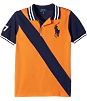 Polo Ralph Lauren Kids - Banner Cotton Mesh Polo (Little Kids/Big Kids)