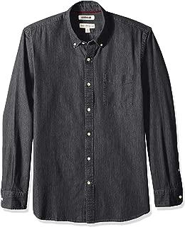 Amazon Brand - Goodthreads Men's Standard-Fit Long-Sleeve Denim Shirt