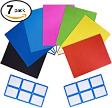 PerfectCover 7 Stretchable Book Covers, Free String Bag and 12 Labels