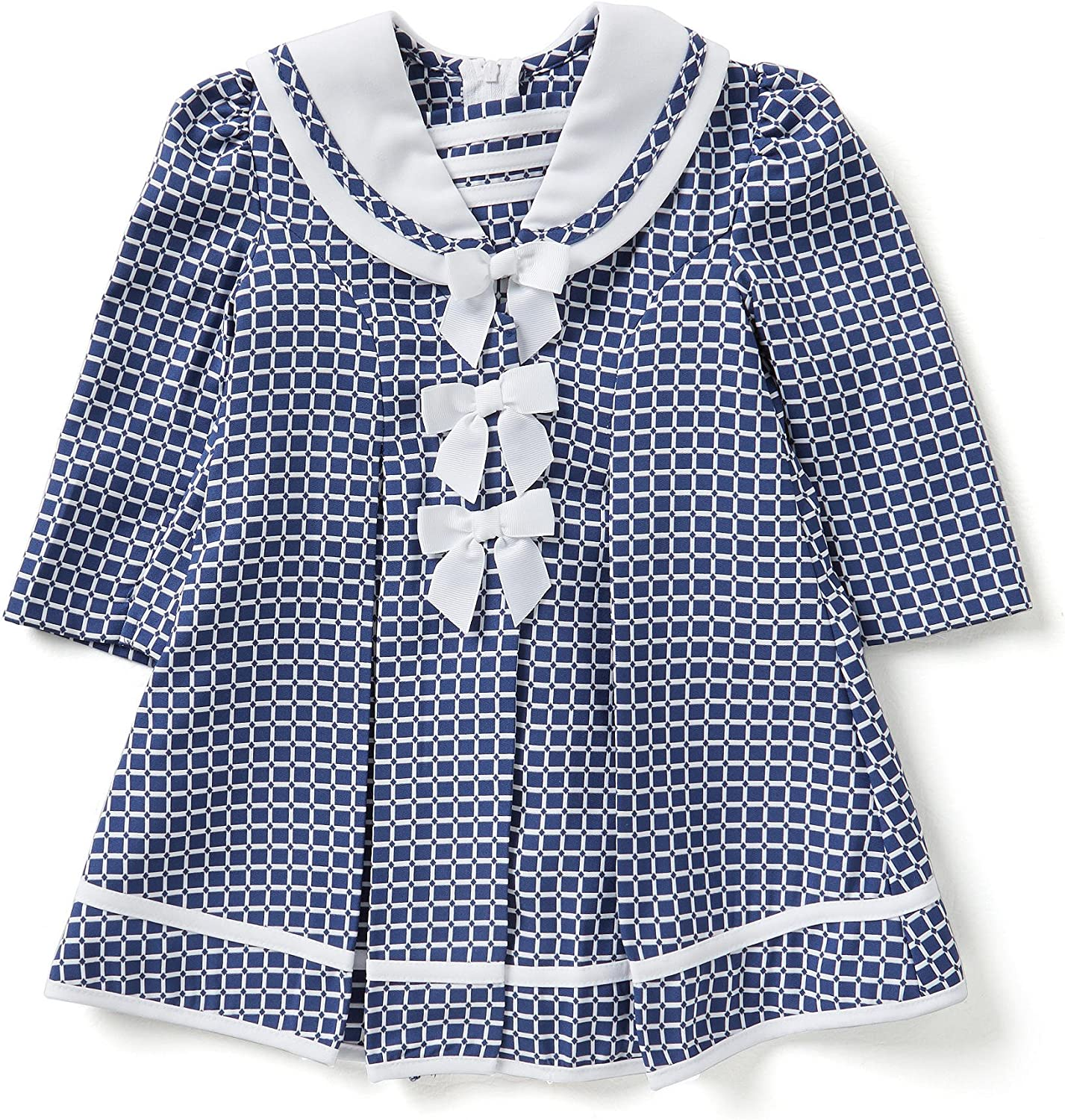 Bonnie Baby Girls Dress High material Max 81% OFF Coat Set and