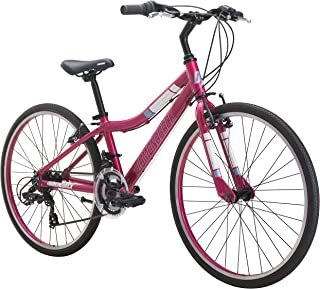 Diamondback Bicycles Clarity 24 Girl's Youth Fitness Hybrid 24