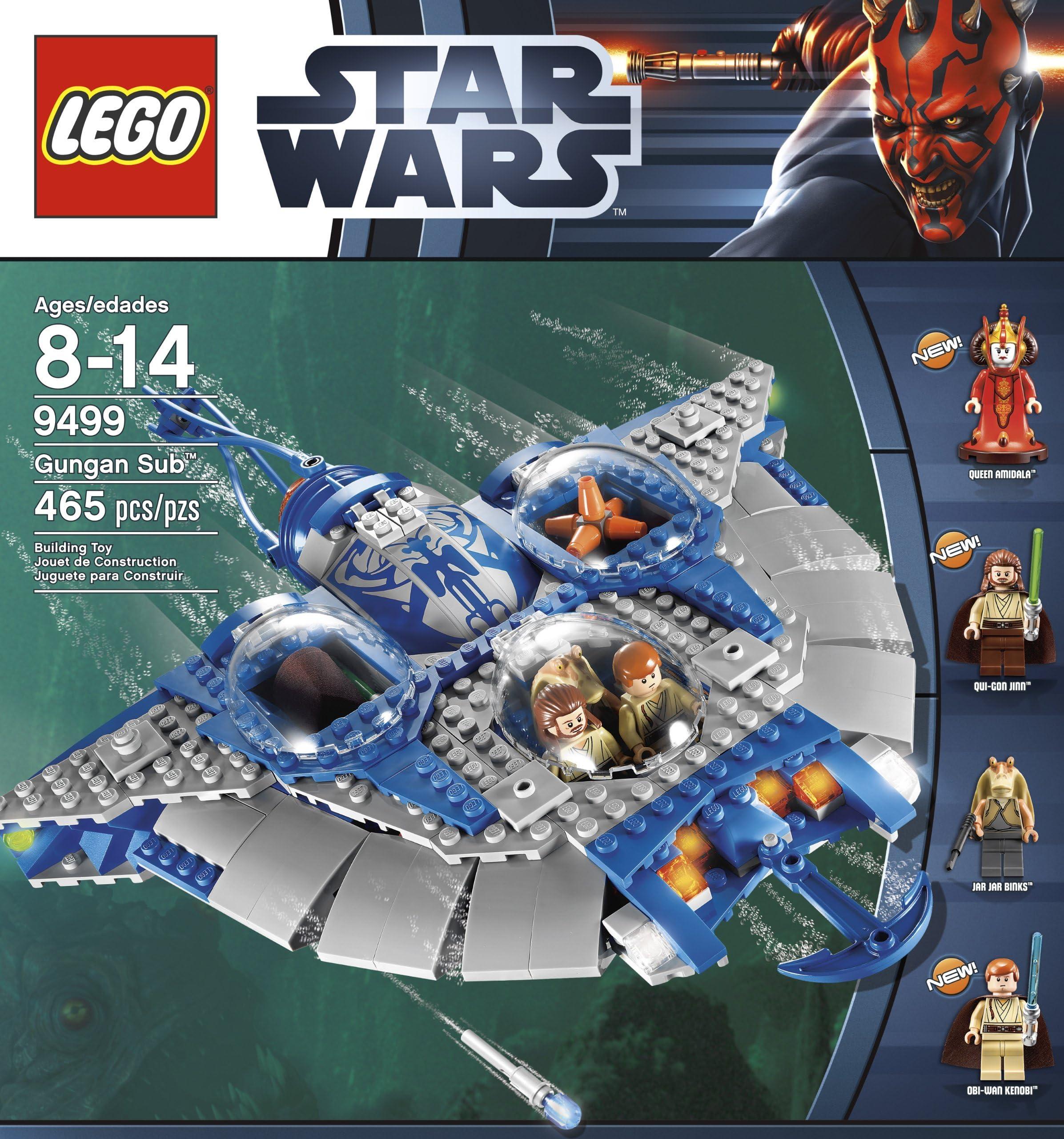 laser épée Gungan sub LEGO star wars figurine Obi-wan Kenobi sw409 de 9499 incl