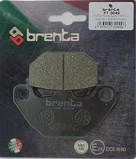 Brenta Plaquettes de Frein organiques moto pour daelim St 250/Sector Quad e-tON rXL 150/Viper SYM
