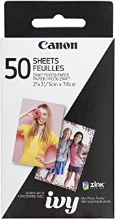 Canon ZINK Photo Paper Pack, 50 Sheets