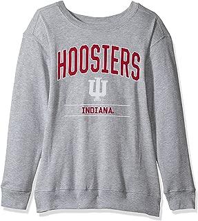 J America NCAA Women's Light Weight Oversized Fleece Sweat Shirt