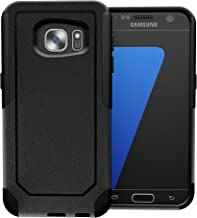 TOUGHBOX Galaxy S7 Case, [Commute Series] [ Shockproof ] [ Slim ] [ Rugged ] [ Black ] for Samsung Galaxy S7 Case [Fits OtterBox Defender & Commuter Series Clip]