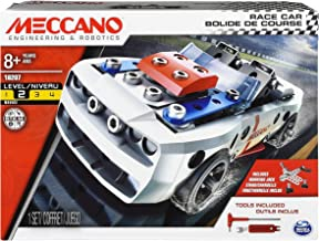 Erector by Meccano - Race Car Model Vehicle Building Kit, for Ages 8 and up, STEM Construction Education Toy