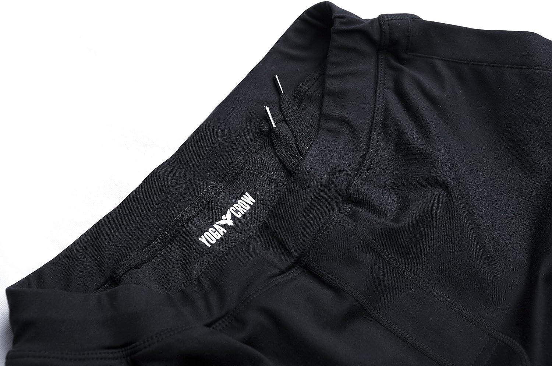 YOGA CROW shorts cortos con forro resistente a los olores para hombre