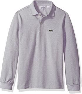Lacoste Boy Long Sleeve Classic Solid Pique Polo