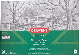DERWENT(R) R31065F Academy Sketch PAD, Portrait A3 30 Sheets
