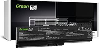 Green Cell GC Laptop Battery for Toshiba Satellite U505-S2935 U505-S2940 U505-S2950 U505-S2950PK Notebook (4400mAh 10.8V Black)