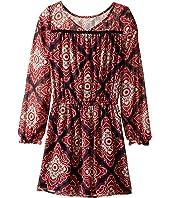 Ella Moss Girl - Alena Printed Chiffon Dress (Big Kids)