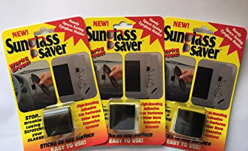 Sunglass Saver Keeps Your Sunglasses and Reading Glasses Handy and Safe.