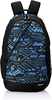 Gear 49 cms Black and Royal Blue Casual Backpack (BKPCMPUS10110)