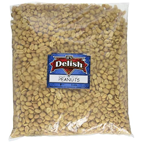 Gourmet Roasted Salted Peanuts by It's Delish, 5 lbs Bulk