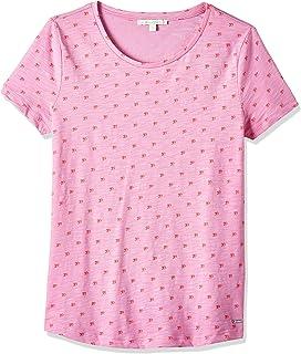 Tom Tailor Women's Logo Print Slub T-Shirt
