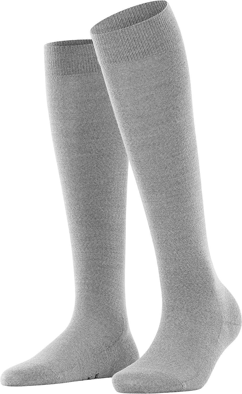 FALKE Womens Softmerino Knee-High Socks Wool Cotton Black Blue Brown Grey 1 Pair