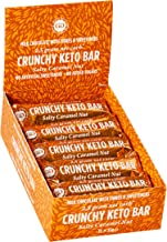 Crunchy Keto Bar 15x35g – High Fibre Low Carb All Natural No Sugar Added – Salty Caramel Nut Estimated Price : £ 18,99