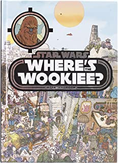 Star Wars - Where's The Wookiee? Look and Find - PI Kids (Star Wars: Look and Find)