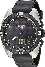 Tissot Men's T091.420.46.051.00 'T Touch Expert' Black Dial Black Leather..