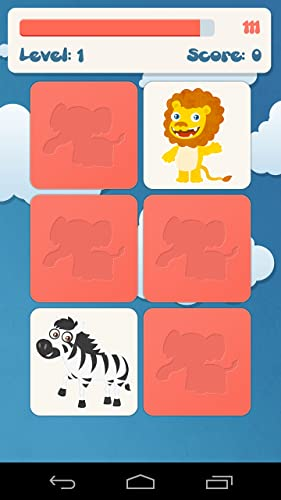 Tiere Memory-Spiel für Kinder - 2