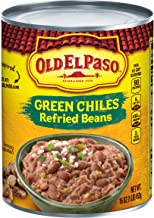 old el paso green chiles refried beans