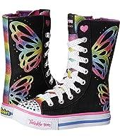 SKECHERS KIDS - Twinkle Toes - Shuffles 10701L Lights (Little Kid/Big Kid)