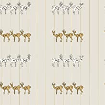 Novogratz Ivory Spirit Animal | Designer Removable Peel and Stick Wallpaper